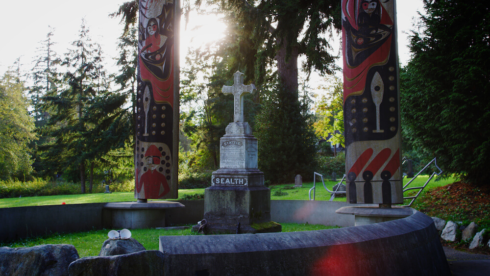 Chief Seattle's Grave