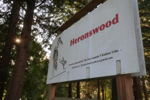 Heronswood sign