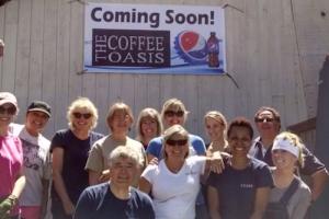 Coffee Oasis Groundbreaking Event