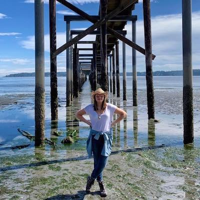 Savannah Moran beach ocean